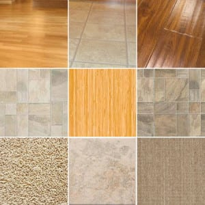 Variety of Flooring Options
